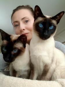Yulya with Mia and George